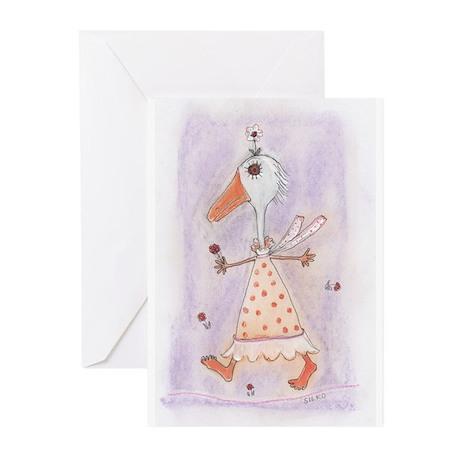 Silko Daisy Duck Greeting Cards (Pk of 10)