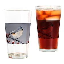 titmouse Drinking Glass