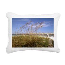 Sea Oats Rectangular Canvas Pillow