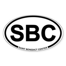 SBC Oval Decal