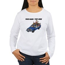 Custom Family Car Trip Long Sleeve T-Shirt