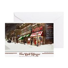 THE TOY STORE BELL RINGER Greeting Card