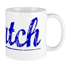 Hatch, Blue, Aged Mug