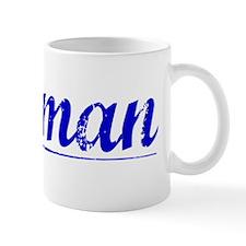 Holman, Blue, Aged Small Mug