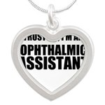 Trust Me, Im An Ophthalmic Assistant Necklaces