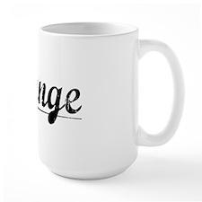 Strange, Vintage Mug