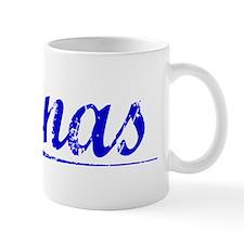 Jonas, Blue, Aged Mug