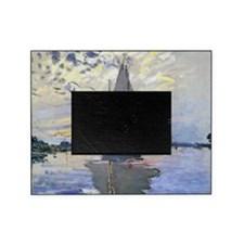 Claude Monet Sailboat Picture Frame