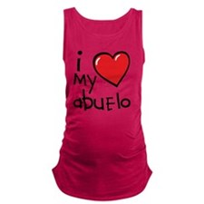I Love My Abuelo Maternity Tank Top