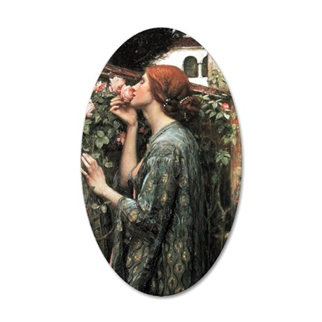 John William Waterhouse My S 35x21 Oval Wall Decal