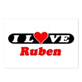 I Love Ruben Postcards (Package of 8)