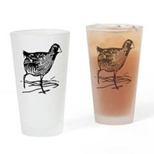 Sora Rail Bird T-Shirt Drinking Glass