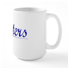 Masters, Blue, Aged Mug