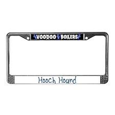 Hooch Hound License Plate Frame