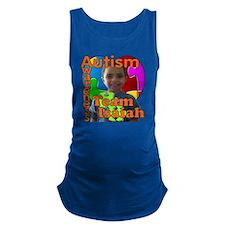 Autism Awareness Team Isaiah Maternity Tank Top
