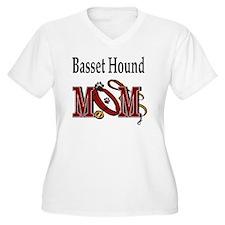 Basset Hound Mom T-Shirt