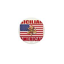 sicilian american a Mini Button