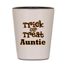 Trick or Treat Auntie Shot Glass