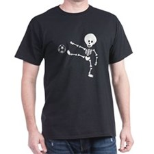 soccer skeleton T-Shirt