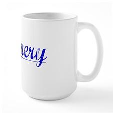 Nunnery, Blue, Aged Mug