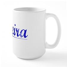 Oliveira, Blue, Aged Mug