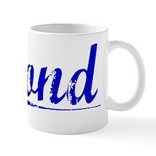 Pond, Blue, Aged Mug