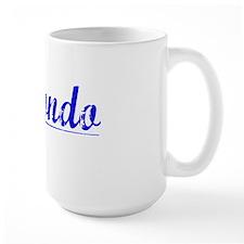 Redondo, Blue, Aged Mug