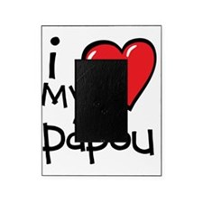 I Love My Papou Picture Frame
