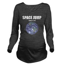 Space Jump Long Sleeve Maternity T-Shirt