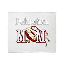 Dalmatian Mom Throw Blanket