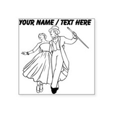 Custom Ballroom Dancers Sticker
