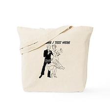 Custom Ballroom Dancing Tote Bag