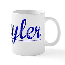 Schuyler, Blue, Aged Small Mug
