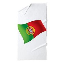 Portuguese Flag Beach Towel