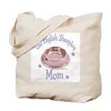 Sheepdog Mom Tote Bag