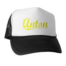 Anton, Yellow Trucker Hat