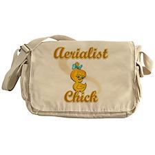 Aerialist Chick #2 Messenger Bag