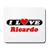 I Love Ricardo Mousepad