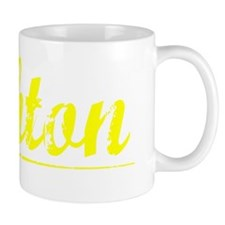 Ashton, Yellow Coffee Mug