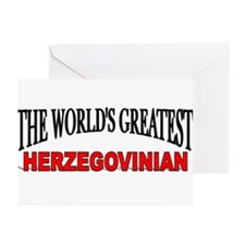 """The World's Greatest Herzegovinian"" Greeting Card"