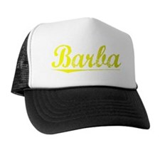 Barba, Yellow Trucker Hat