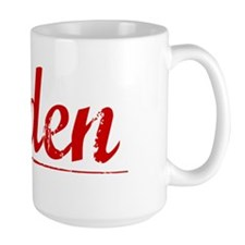 Alden, Vintage Red Mug