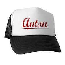 Anton, Vintage Red Trucker Hat