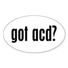 Got ACD? Oval Decal