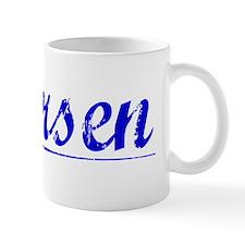 Thorsen, Blue, Aged Mug