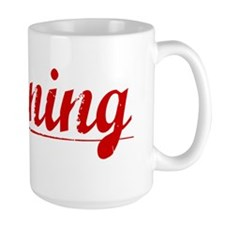 Banning, Vintage Red Mug