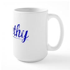 Timothy, Blue, Aged Mug