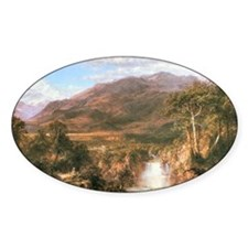 Frederic Edwin Church Heart of Ande Decal
