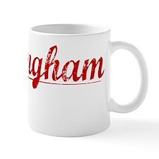 Birmingham, Vintage Red Small Mug