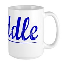 Weddle, Blue, Aged Mug